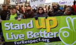 Chicagoans join Walmart workers in this year's Black Friday day of action (Scott Marshall)