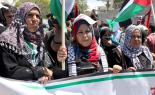 Palestinians in Gaza march to mark Nakba Day  (Joe Catron)