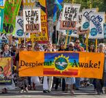 Marching to demand climate justice in Oakland, California (Jack Owicki)