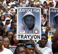 Thousands came to Sanford for a demonstration to demand justice for Trayvon Martin (Gary W. Green | MCT/Newscom)