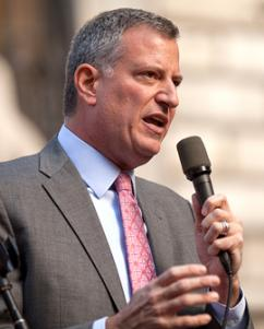New York Mayor Bill De Blasio (Kevin Case)