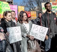 Brooklyn parents speak out against high-stakes testing overtaking the education their kids deserve