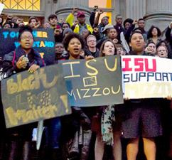 Iowa State University students stand up to racism on their campus (Max Goldberg)