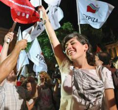 Supporters of SYRIZA rally ahead of elections in Athens (Business Insider)