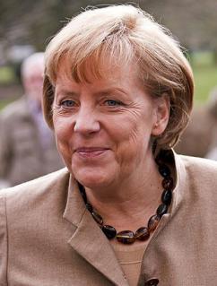 Chancellor Angela Merkel (Dirk Vorderstraße)