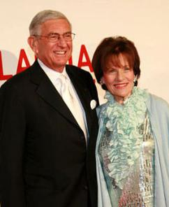 Billionaire privatizers Eli and Edith Broad (Jeremiah Garcia)