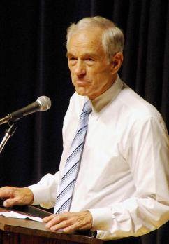 Republican presidential candidate Ron Paul (Allison Stillwell)