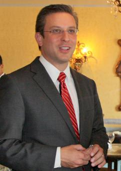 Puerto Rico's governor-elect Alejandro García Padilla