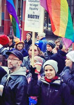 Chicagoans rally for marriage equality in Illinois