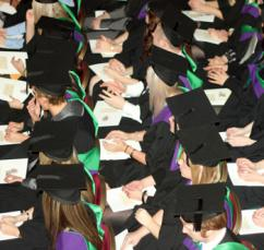 A class of 2013 graduation ceremony