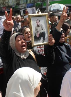 Protests in Nablus following the death of Maisara Abu Hamdiyeh in an Israeli prison