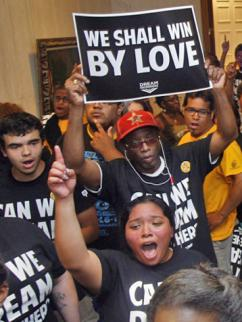 Dream Defenders occupying the Florida Capitol