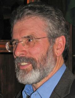 Gerry Adams of Sinn Féin