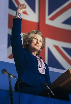 Meryl Streep as Margaret Thatcher