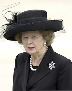 Margaret Thatcher in 2004 (Scott M. Ash)