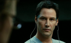 Keanu Reeves: Out-acted by the faceless, voiceless robot that played the same character in the 1951 classic