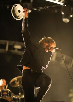 Refused playing at the Cochella festival in 2012