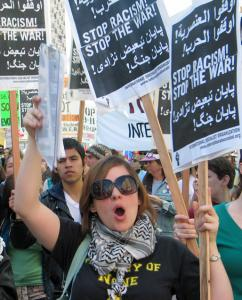 Marching against war and anti-Arab racism in San Francisco (Matt Swagler)