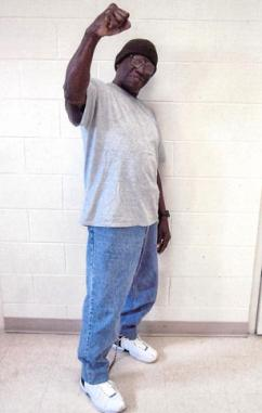 Herman Wallace while in prison