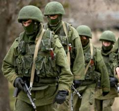 Russian troops on the move in Crimea