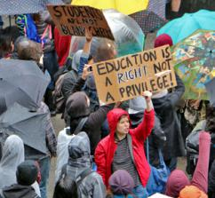 Student protests against tuition hikes spread to UC Santa Cruz (Alex Darocy | Indybay.org)