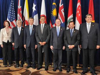 Heads of state gathered to negotiate the Trans-Pacific Partnership