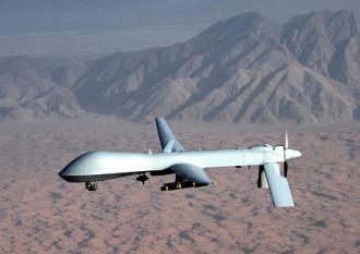 A MQ-1 Predator drone (Leslie Pratt)