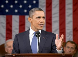 President Obama delivers his State of the Union speech (Pete Souza | White House)