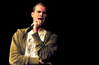Daniel Tosh performing at Boston University (Julian Jensen)