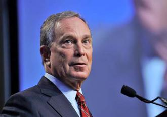 Mayor Michael Bloomberg (Jim Gillooly)