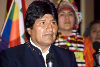 Bolivian President Evo Morales (Sebastian Baryli)
