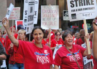 The 26,000 members of the Chicago Teachers Union are leading the fight for our schools (CTU)