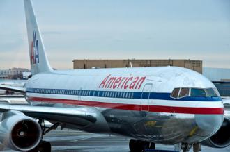 An American Airlines plane (Marc Llopart)