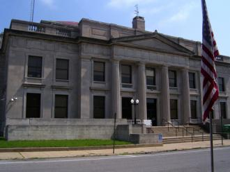 The courthouse in Murphysboro, Ill.
