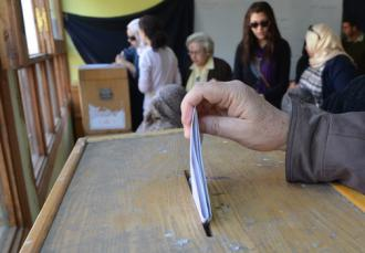 Voting in Egypt&#039;s first fully free elections (Ahmed Abdel-fatah)