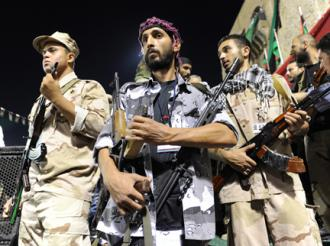 Libyan rebels arrive in Tripoli (Ammar Abd Rabbo)