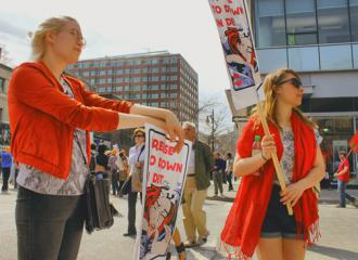 The student strike in Qubec is shaking up politics across Canada (Tina Mailhot-Roberge)