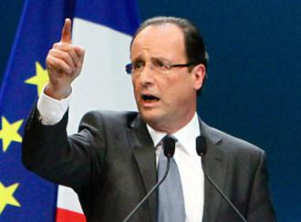 French President François Hollande (Mathieu Delmestre)
