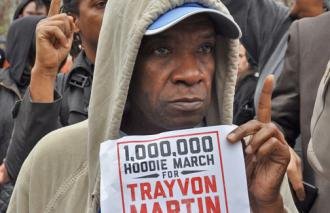 Thousands demonstrated to demand justice for Trayvon Martin in New York City (Mike Fleshman)