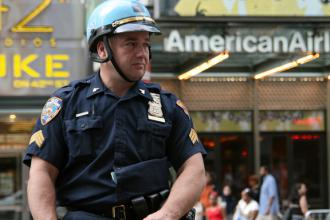 A New York City police officer
