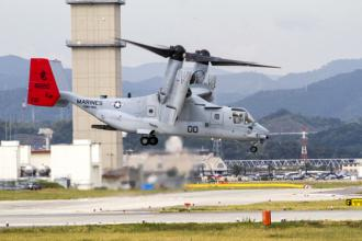 Osprey aircraft deployed by Marines in Okinawa, Japan (Sgt. Daniel K. Brown)