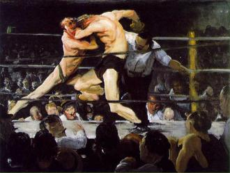 A painting by George Bellows
