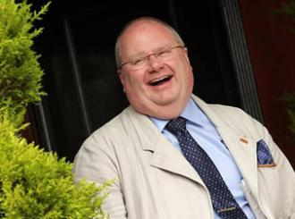 The Tory Party's Secretary of State for Communities Eric Pickles