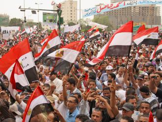 The May 27 demonstration in Tahrir Square marked a renewal of the spirit of Egypt's revolution (Mai Shaheen)