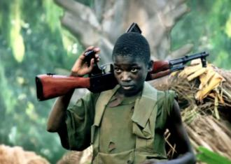 A child soldier who appears in the Kony 2012 video campaign