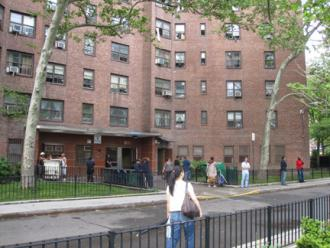 Public housing complexes on the Lower East Side are still without power