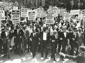 The 1963 March on Washington for Jobs and Freedom (National Archives)