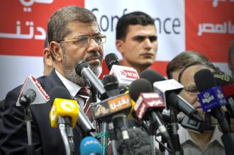 Egyptian President Mohamed Morsi  (Jonathan Rashad)