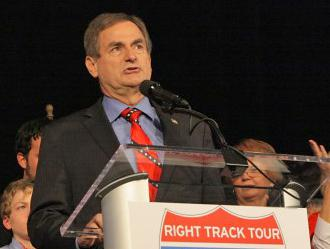 Indiana's Republican Senate candidate Richard Mourdock concedes defeat on Election Night