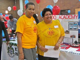 Saucedo Elementary represents at the Neighborhood Schools Fair (Bob Simpson | SW)